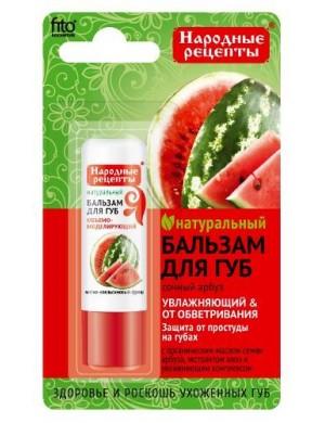 Fitokosmetik Naturalny balsam do ust - Arbuzowy