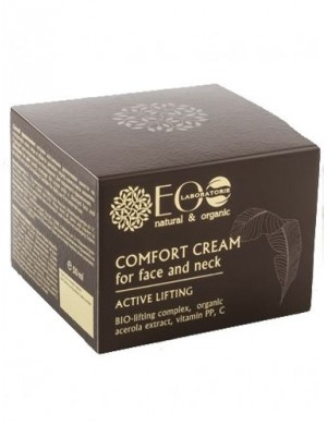 Ecolab Krem - komfort do twarzy i szyi - Aktywny Lifting
