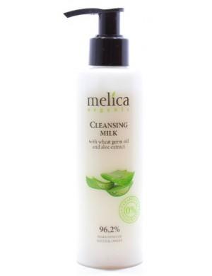 Melica Oczyszczające mleczko do twarzy z olejkiem pszenicy i aloesem 200ml