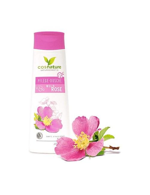 Naturalny odżywczy żel pod prysznic z dziką różą