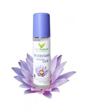 Naturalny dezodorant w sprayu z lilią wodną