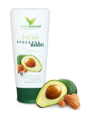 Naturalna regenerująca odżywka do włosów z awokado i migdałami - Cosnature