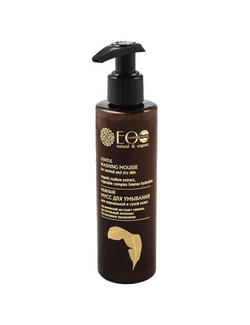 Ecolab Nawilżający mus do mycia normalnej i suchej skóry twarzy 200ml