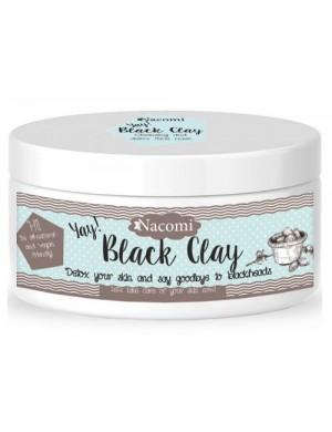 Czarna glinka – maseczka oczyszczająca pory z toksyn Black Clay - Nacomi
