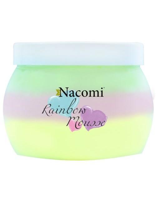 Tęczowy mus do ciała Rainbow mousse - Nacomi