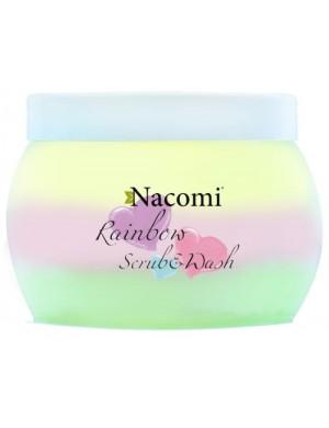 Tęczowa pianka złuszczająca do ciała Rainbow scrub & wash – Nacomi