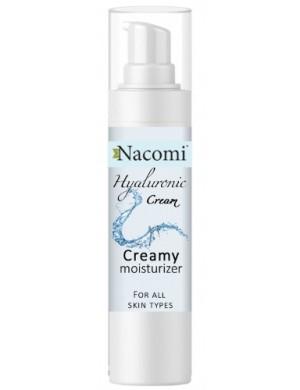Hialuronowy żel krem do twarzy - Nacomi