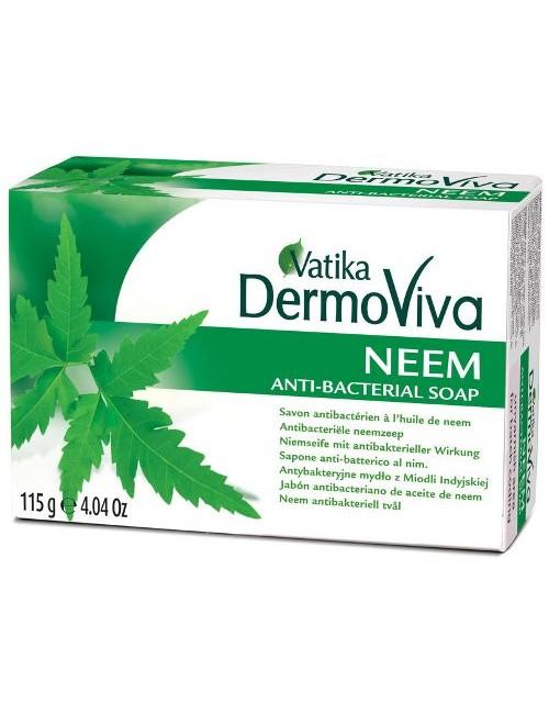 Antybakteryjne mydło ziołowe z miodlą indyjską Dabur Dermoviva Neem