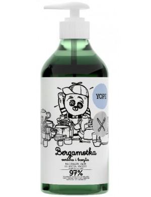 Płyn do mycia naczyń Bergamotka, werbena i bazylia – Yope