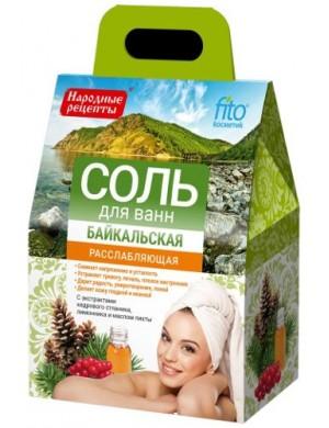 Relaksująca sól do kąpieli Bajkalska – Fitokosmetik