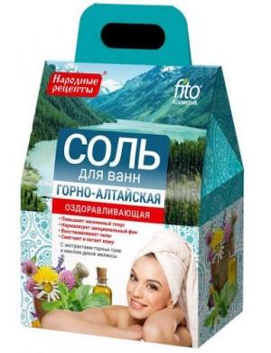 Rewitalizująca sól do kąpieli Ałtajska – Fitokosmetik