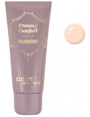 Kremowy podkład mineralny Creamy Comfort Light Rose – Neve Cosmetics
