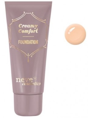 Kremowy podkład mineralny Creamy Comfort Medium Warm – Neve Cosmetics