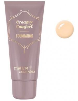 Kremowy podkład mineralny Creamy Comfort Light Warm – Neve Cosmetics