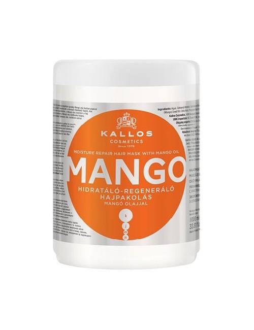 Maska do włosów z olejkiem Mango 1000ml – Kallos