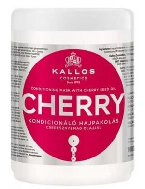 Nawilżająca maska do włosów wiśniowa Cherry 1000ml – Kallos