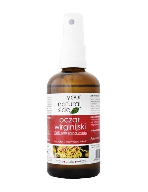 Oczarowa woda kwiatowa – hydrolat, spray - Your Natural Side