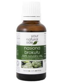 Olej z nasiona brokułu, nierafinowany 30ml - Your Natural Side