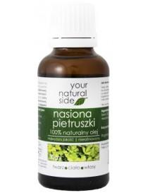 Olej z nasion pietruszki, nierafinowany 30ml - Your Natural Side