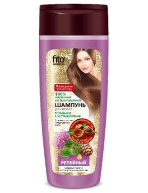 FITOKOSMETIK Łopianowy szampon do włosów matowych i zniszcznych