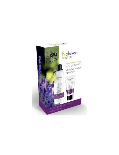 Sylveco Biolaven - Zestaw kosmetyków na dzień  – Krem do twarzy i płyn micelarny