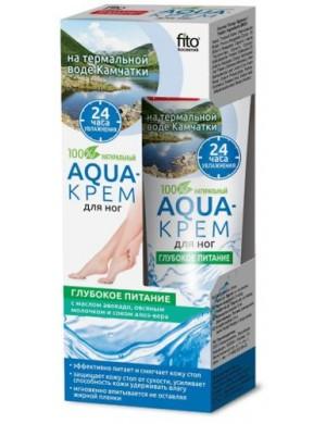 Zmiękczający Aqua krem do stóp z mlekiem owsianym – Fitokosmetik