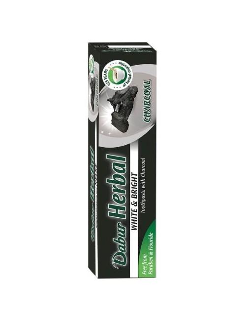 Czarna wybielająca pasta do zębów z aktywnym węglem – Dabur