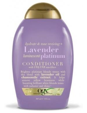 Odżywka do włosów farbowanych z filtrem UV – Ogx Lavender Platinium