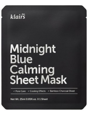 Klairs Maseczka w płacie Midnight Blue Calming Sheet