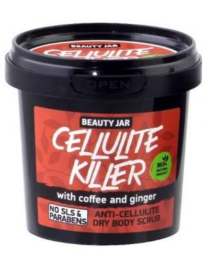 Antycellulitowy suchy peeling do ciała – Kawa i Imbir – Beauty Jar CELLULITE KILLER