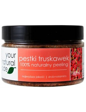 Drobnoziarnisty peeling pestki truskawek – Your Natural Side