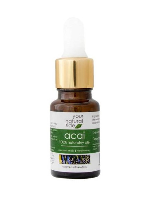 Nierafinowany olej Acai – Your Natural Side