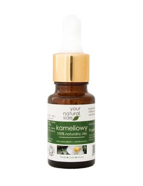 Nierafinowany olej kameliowy – Your Natural Side