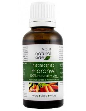 Nierafinowany olej z nasiona marchwi – Your Natural Side