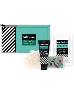 Prezentowy Zestaw Kosmetyków Do Kąpieli Fun Box - Cafe Mimi