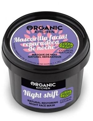 Naturalna regeneracyjna maska na noc – Organic Kitchen