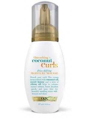 Ogx Pianka przeciw puszeniu się włosów kręconych Coconut Curls