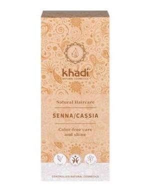 khadi Bezbarwna henna do włosów - Cassia