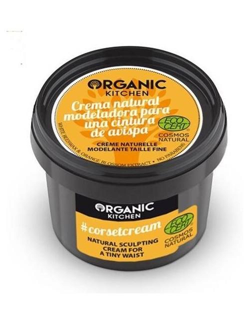 Naturalny krem do ciała modelujący talię - Organic Kitchen