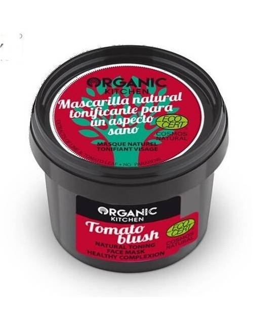 Naturalna tonizująca maska pomidorowa do twarzy - Organic Kitchen