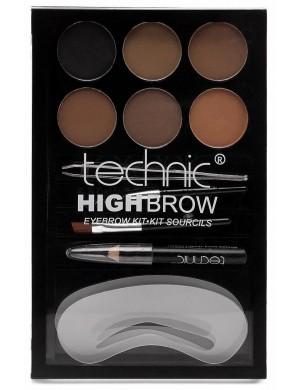 Technic Paleta do makijażu i stylizacji brwi High Brow