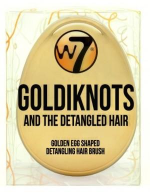 W7 Szczotka do rozczesywania i układania włosów Goldiknots