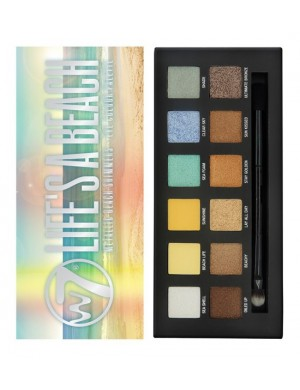 Paleta cieni do oczu - W7 Life's a Beach Metallic Beach Shimmers