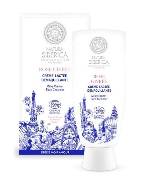 Mleczny krem do mycia i oczyszczania twarzy Rose Givree - Natura Siberica