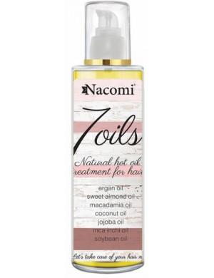 Nacomi Maska do olejowania włosów 7 Oils