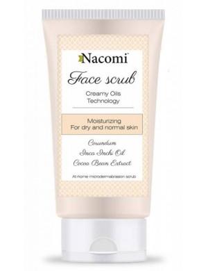 Nacomi Nawilżający peeling do twarzy do skóry suchej i normalnej