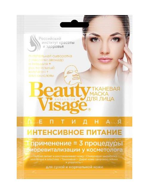 Peptydowa maska w płachcie Beauty Visage – Fitokosmetik