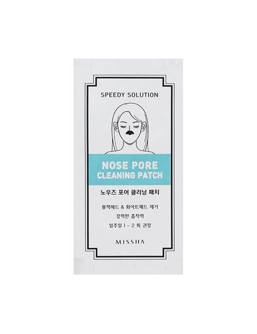 MISSHA Plasterki na nos – Nose Pore Cleaning Patch