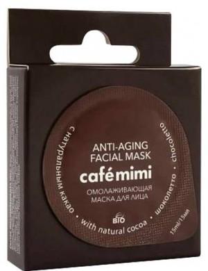 """Cafe Mimi Odmładzająca maska do twarzy z naturalnym kakao """"Chocoletto"""""""