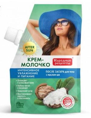 Krem - mleczko po opalaniu z olejkami – Fitokosmetik